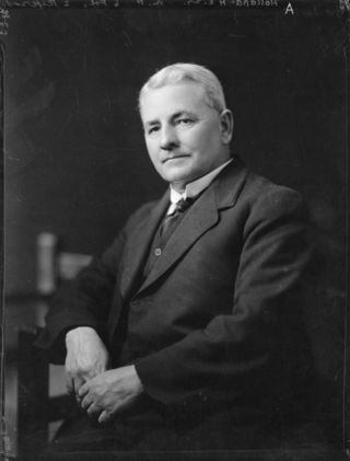 Harry Holland, leader of the Labour Party.1922