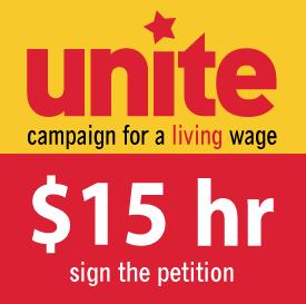 Unite $15 hour campaign