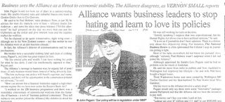 Alliance business pagani