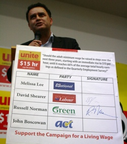 Matt McCarten Unite petition