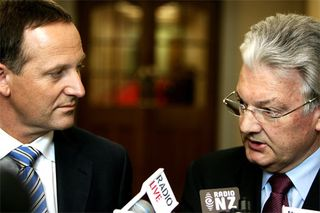 Peter Dunne National coalition