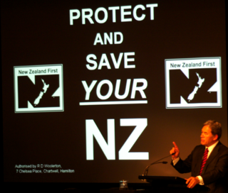 NZ First 2008 slogan