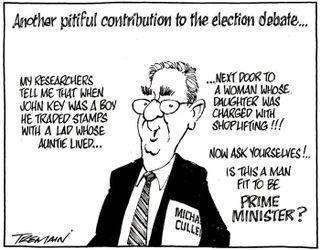 Cullen Labour negative