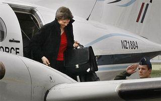 Clark leaving NZ