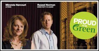 Green Party celebrities