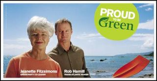 Green Party celebrity politics