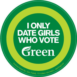 I only date girls who vote green