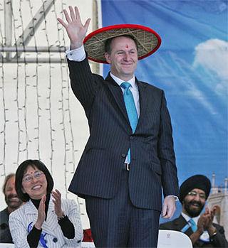 Centrist National Party John Key