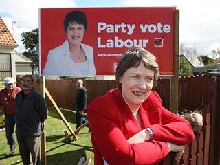 Helen Clark Labour billboards