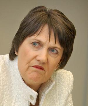 Helen Clark sour