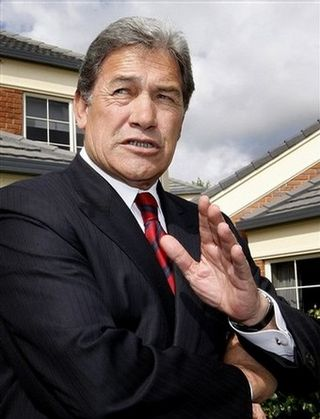 Winston Peters 2008 campaign