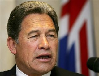 Campaign media Winston Peters