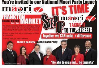 Maori Party ad