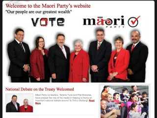 Election Maori Party