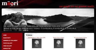 Website Maori Party