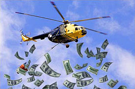 Election money bryce edwards
