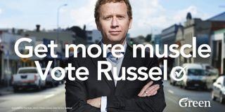 Russel-norman-mt-albert-hoarding