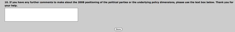 Online Survey 3 - Bryce Edwards