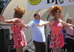 John Key gay pride - Bryce Edwards