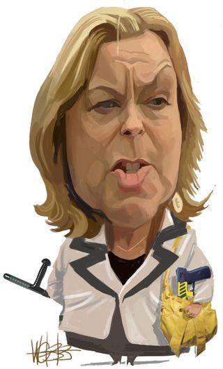 Judith Collins MP - Murray Webb - Bryce Edwards