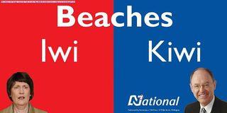 Iwi Kiwi Billboard - Bryce Edwards