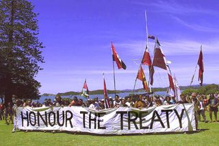 Honour the treaty - bryce edwards