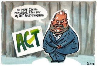 Act Party ideology Hide - Bryce Edwards