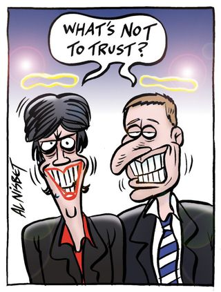 Political trust - Bryce Edwards