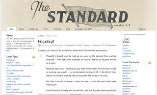 The Standard - Bryce Edwards