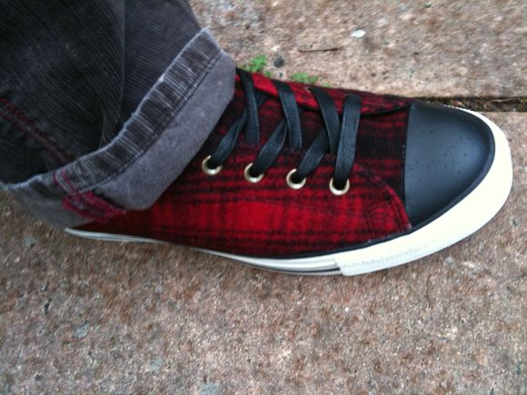 My new Converse shoes