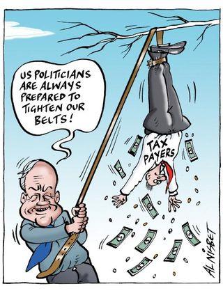 Politician pay money - Bryce Edwards