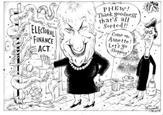 Labour Electoral Finance Act - Bryce Edwards