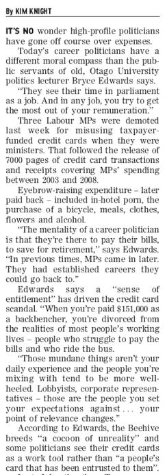 Bryce Edwards - Sunday Star Times