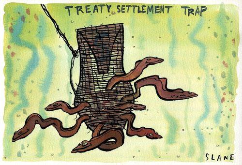 Treaty politics - Bryce Edwards