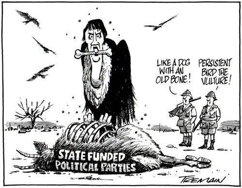 State funding labour party - Bryce Edwards