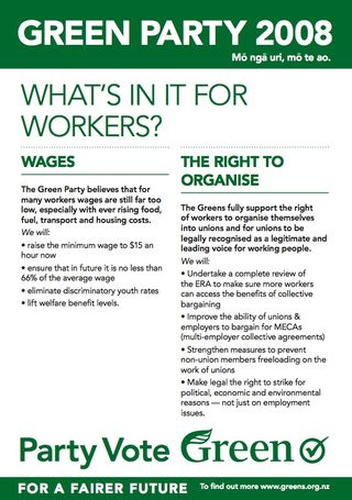 Greens Workers - bryce edwards