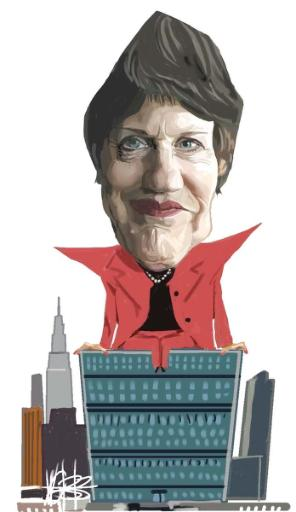 Image result for free to use cartoon of helen clark