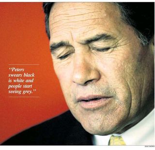 Winston Peters - Bryce Edwards