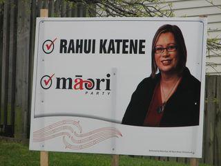 Maori Party Rahui Katene - Bryce Edwards