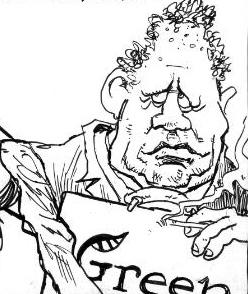 Russel Norman cartoon bryce edwards