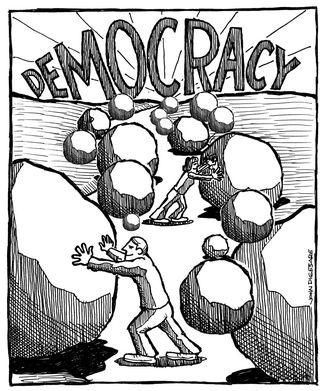 Democracy - bryce edwards