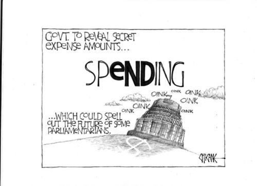 Ministerial spending - bryce edwards