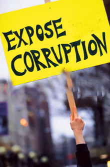 Expose corruption - bryce edwards