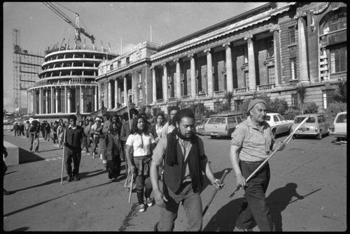 Maori protest - bryce edwards