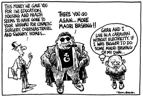 Maori inequality rich - Bryce Edwards