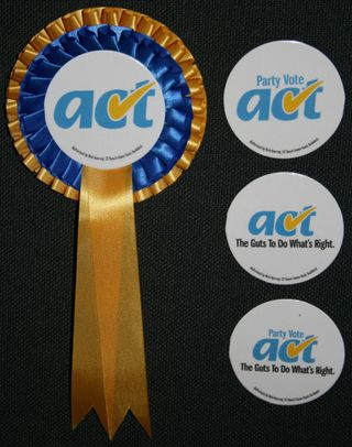 Act rosettes- Bryce Edwards