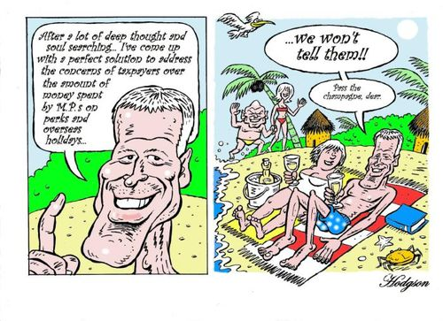 3 MP travel perk NZ political finance parliament expenses scandal - Bryce Edwards liberation blog www.liberation.org.nz