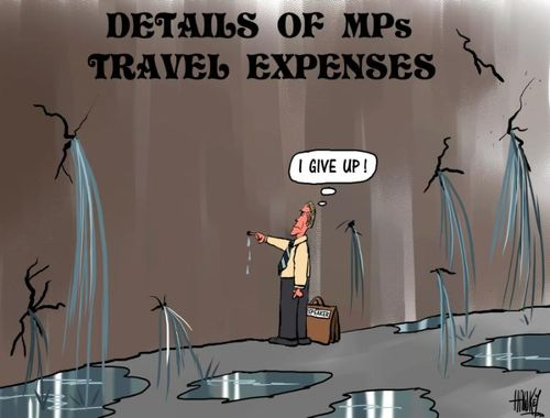 14 MP travel perk NZ political finance parliament expenses scandal - Bryce Edwards liberation blog www.liberation.org.nz