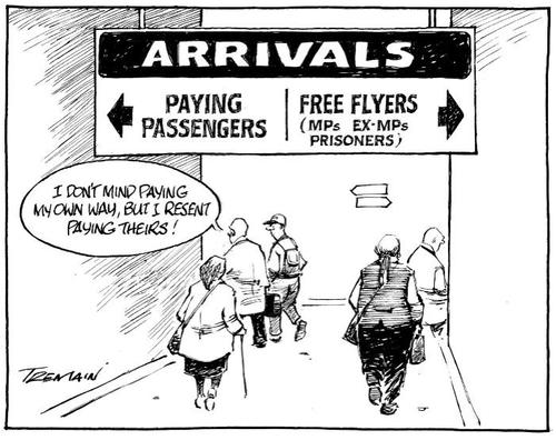 66 MP travel perk NZ political finance parliament expenses scandal - Bryce Edwards liberation blog www.liberation.org.nz