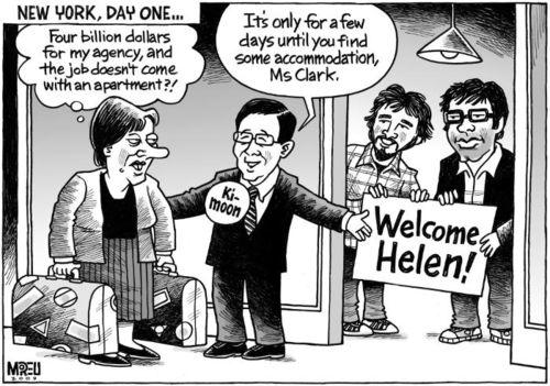 6 - Helen Clark prime minister New Zealand Labour Party UN New York Bryce Edwards liberation blog – www.liberation.org.nz